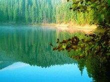 Synevyr Lake, Ukraine